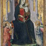 Camerino Madonna in trono Pinacoteca (Arcangelo di Cola)