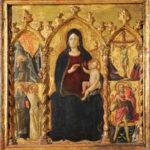Urbino Madonna in trono (Arcangelo di Cola)