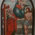 Visso museo pinacoteca madonna con bambino (Angelucci)
